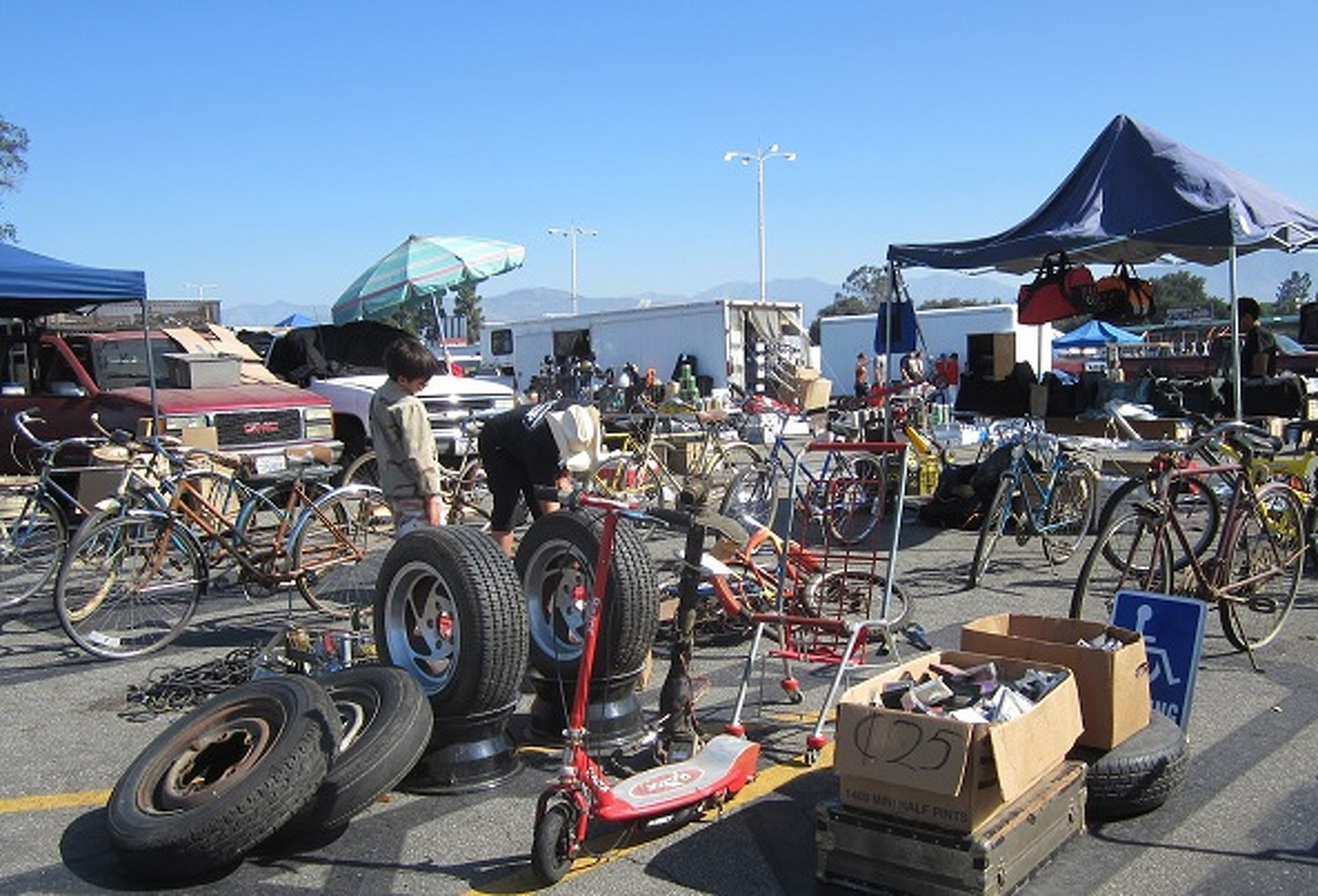 Early Fall is Swap Meet Season