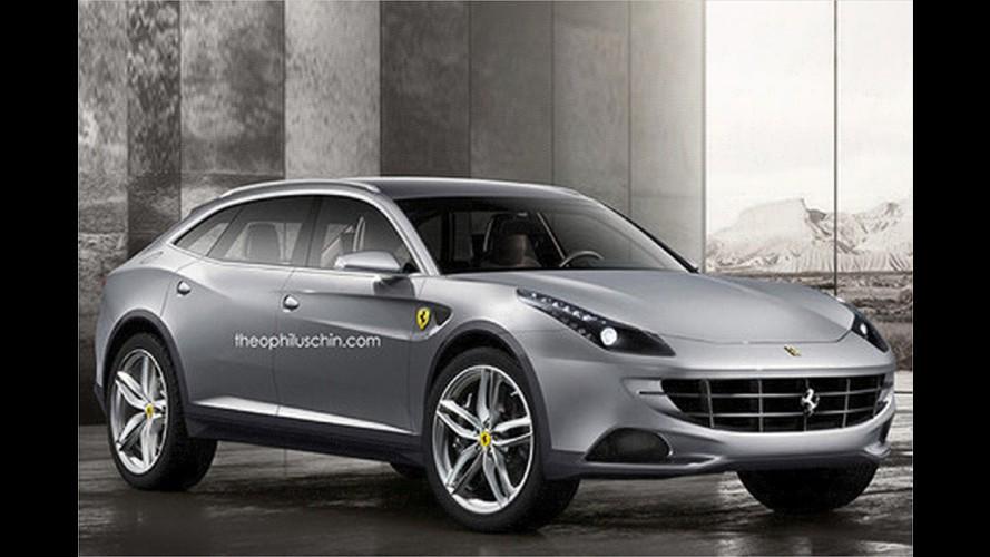 Kommt der Ferrari-Crossover?