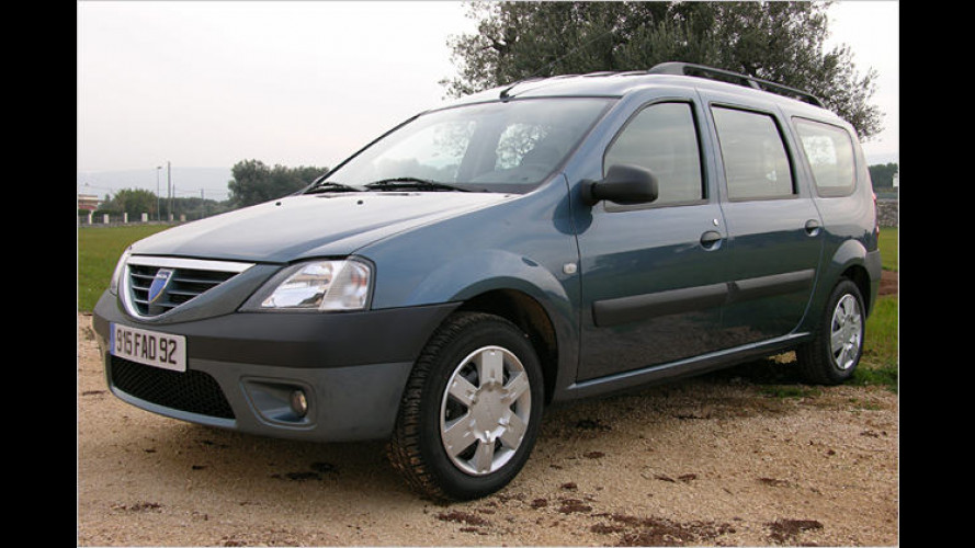 Für die harte Realität da draußen: Dacia Logan MCV im Test