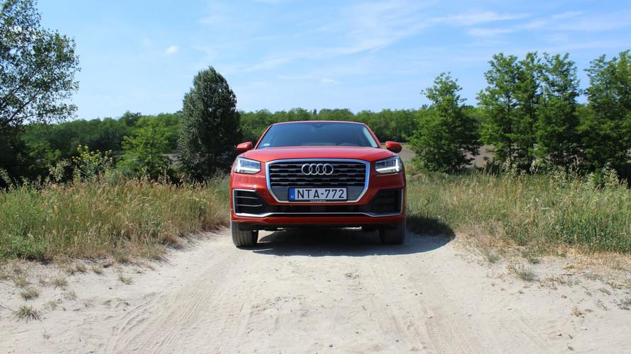 Audi Q2 Design 1.4 TFSI S-tronic Teszt