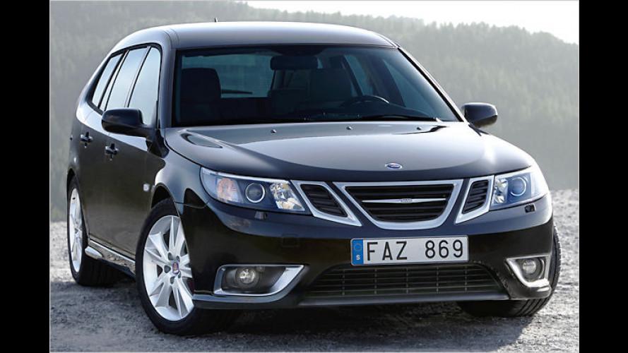 Die Zukunft im Gesicht: Saab 9-3 bekommt Aero-X-Front