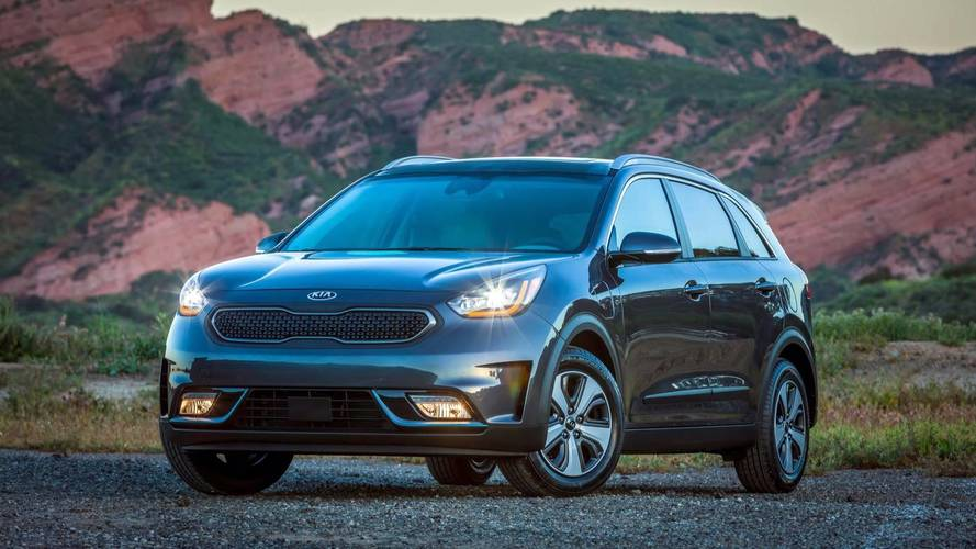 2018 kia niro phev starts at 28 840 goes on sale early. Black Bedroom Furniture Sets. Home Design Ideas