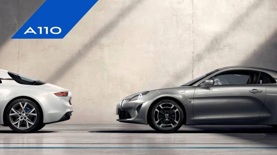 Alpine A110 - Voici les deux finitions disponibles !