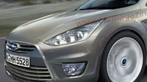 Next Generation Ford Mondeo Coupe Artists Rendering