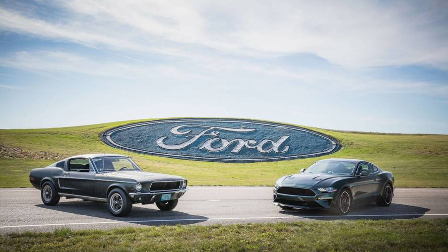 Jay Leno Chased By Original Bullitt Mustang While Driving