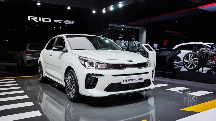 Kia adds GT Line specification to Rio range at Geneva show