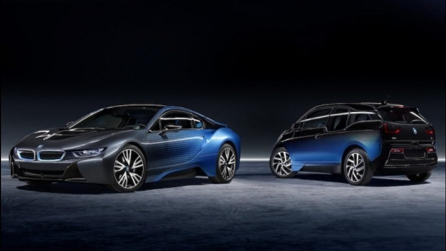Garage Italia Customs, BMW i3 e i8 fanno il pieno di sfumature