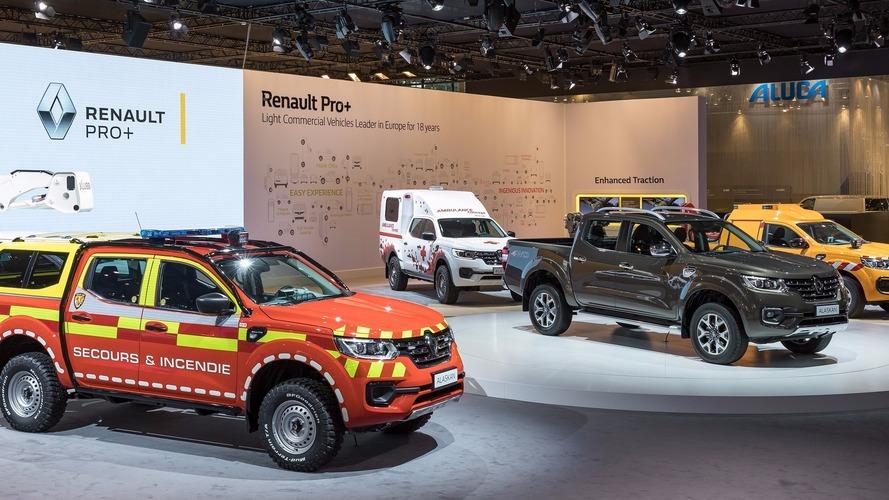 Renault Alaskan - Un pick-up multifonction présenté à Hanovre
