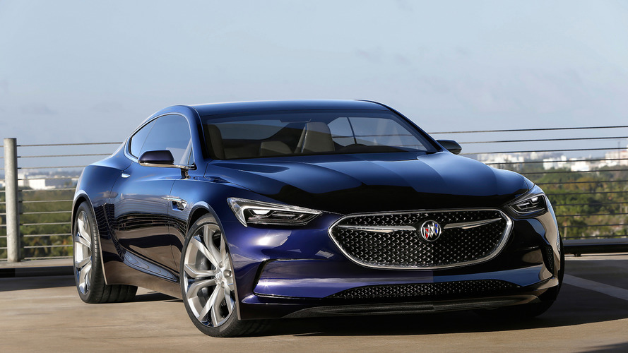 Buick Avista concept could spawn a four-door coupe