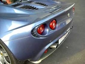 Lotus Elise exhaust lotus sport accelerating