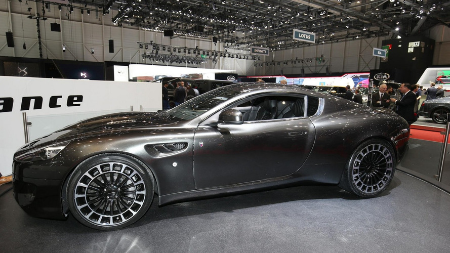 Kahn Vengeance arrives in Geneva as reskinned Aston Martin DB9