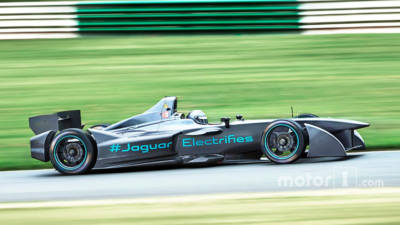 Jaguar Formula E tests