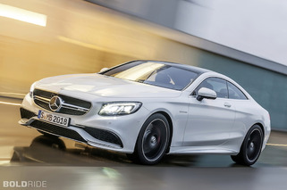 2015 Mercedes-Benz S63 AMG Coupe: Sleek New Profile, 585 Horses