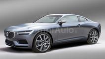 Volvo C90 render by OmniAuto.it