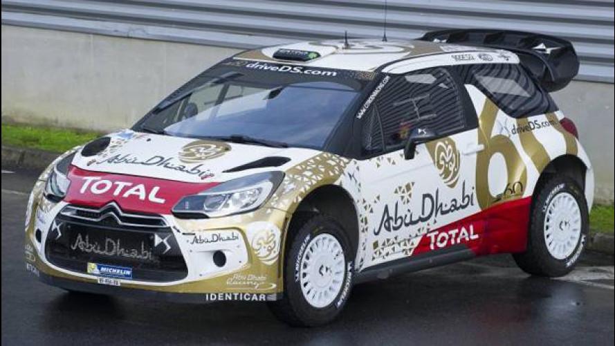 Citroen DS3 WRC cambia pelle