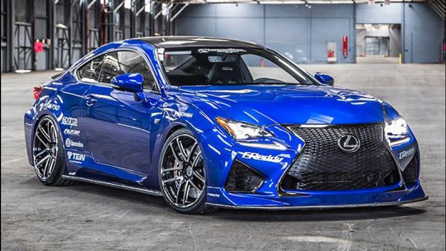 Lexus RC, la coupé più elaborata del SEMA