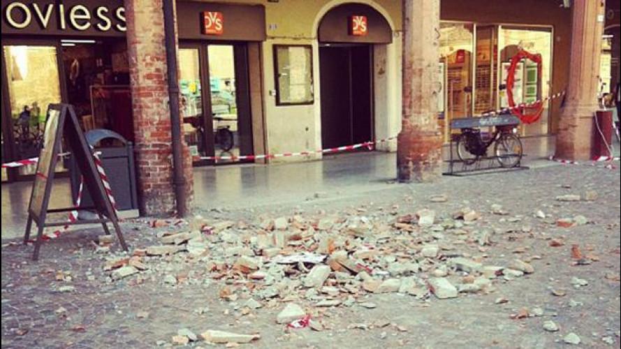 Terremoto in Emilia: la