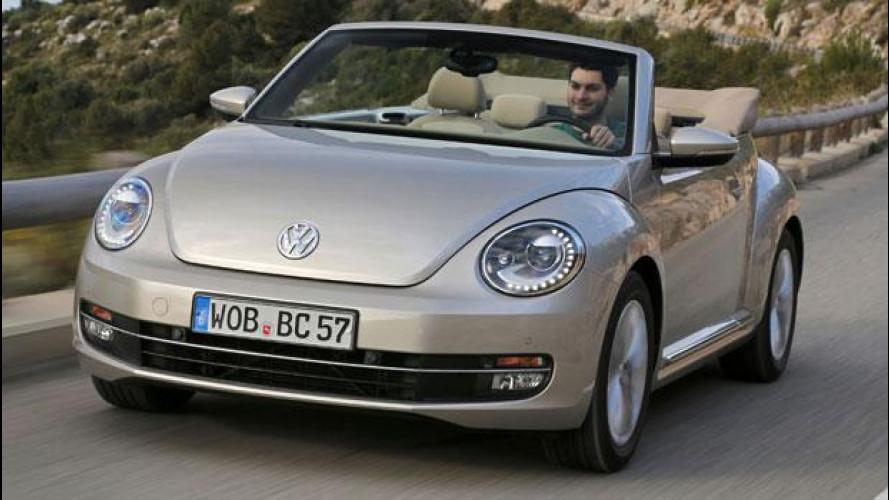 Volkswagen Maggiolino Cabriolet, il ritorno di un'icona pop