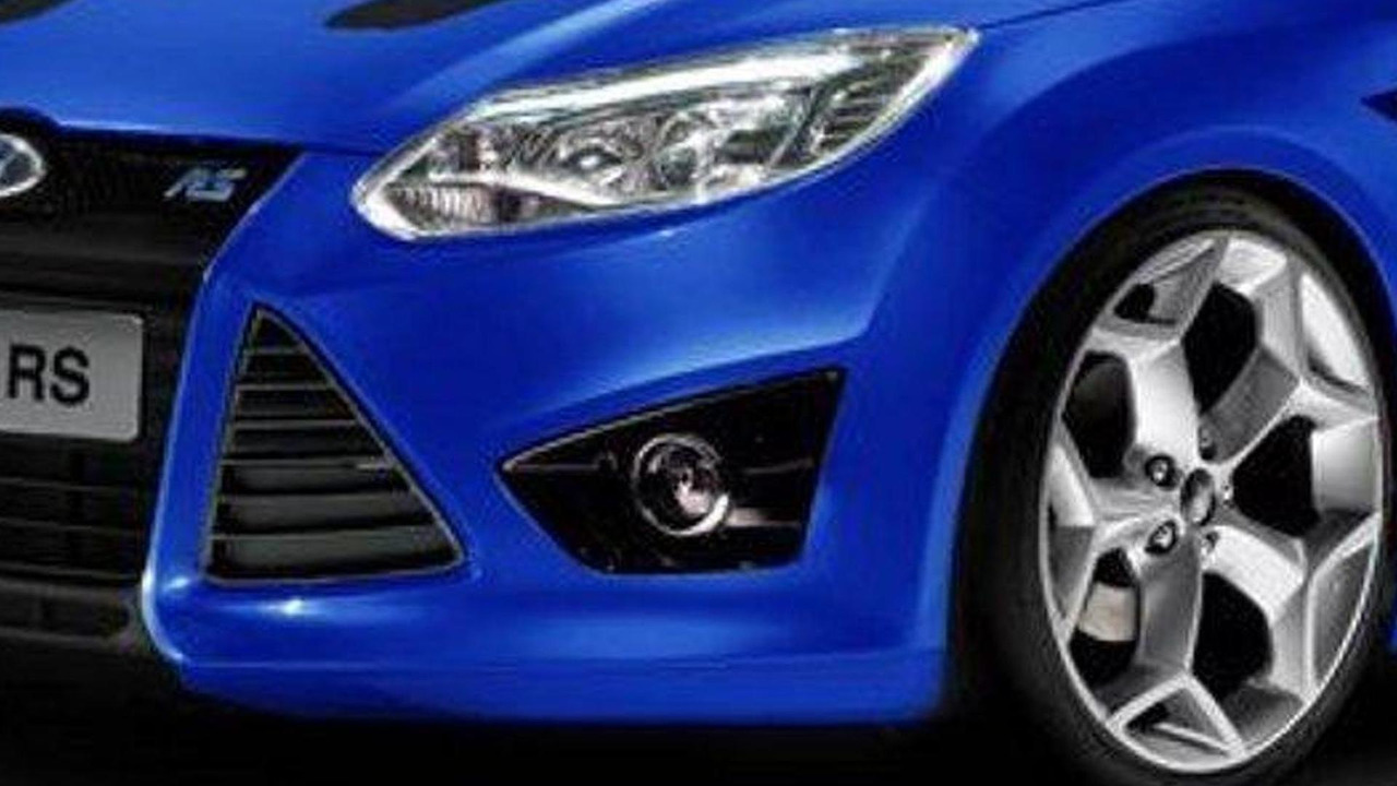 2012 Ford Focus RS artist rendering