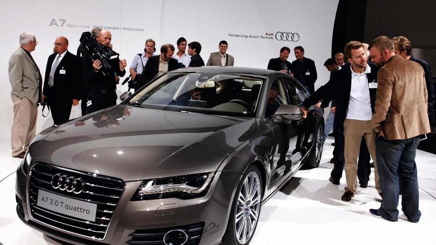 2011 Audi A7 Sportback debuts in Paris