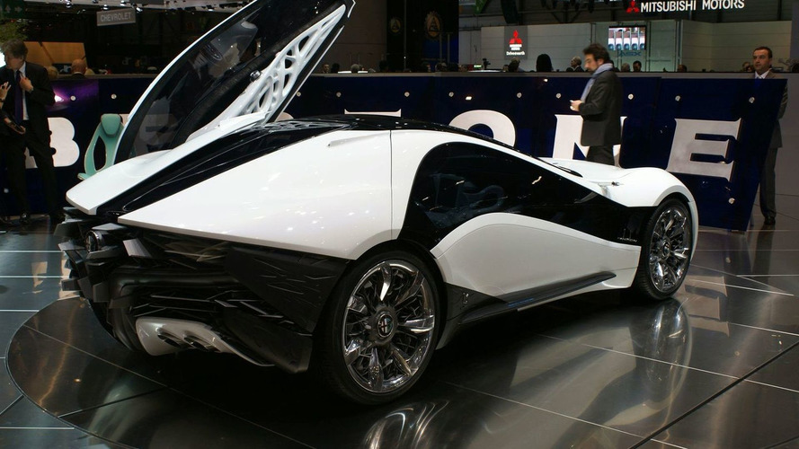 Bertone Pandion Concept Wings Into Geneva