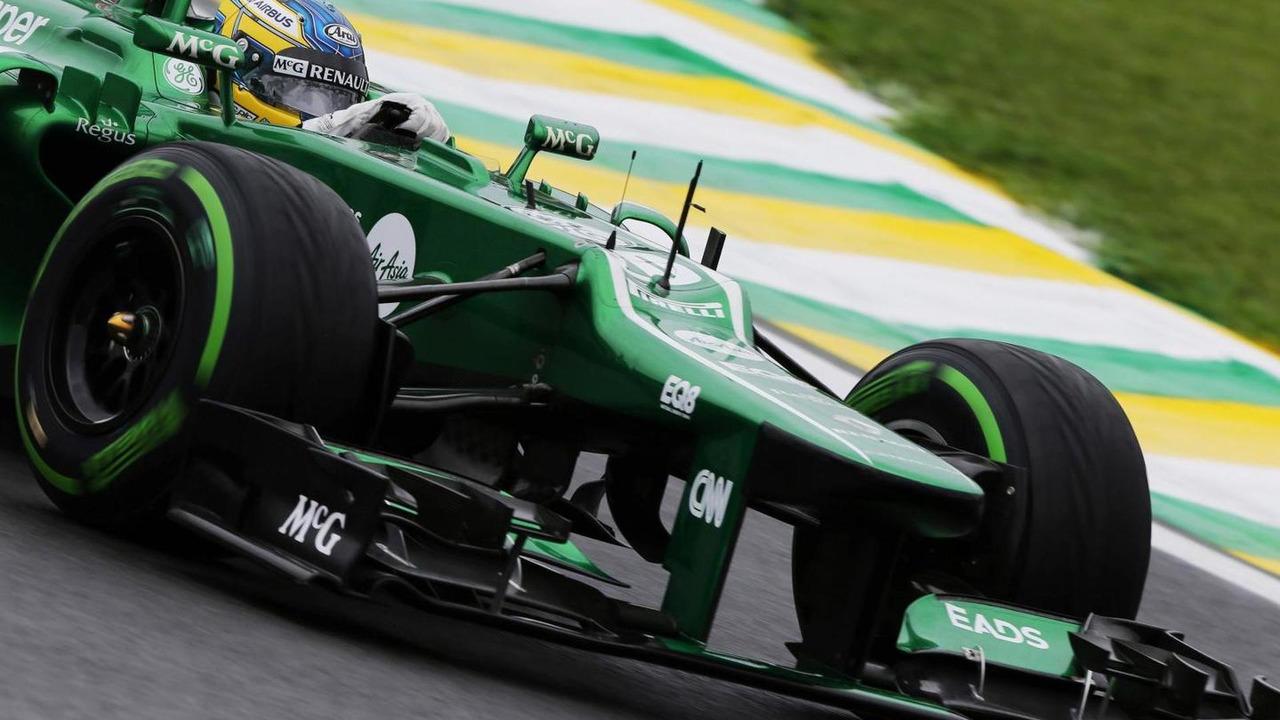 Charles Pic 22.11.2013 Brazilian Grand Prix