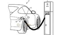 Porsche 911 plug-in hybrid revealed in a patent photo?