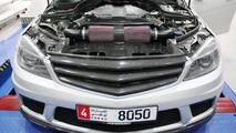 PP-Performance modifies Mercedes-Benz C63 AMG with SLS parts