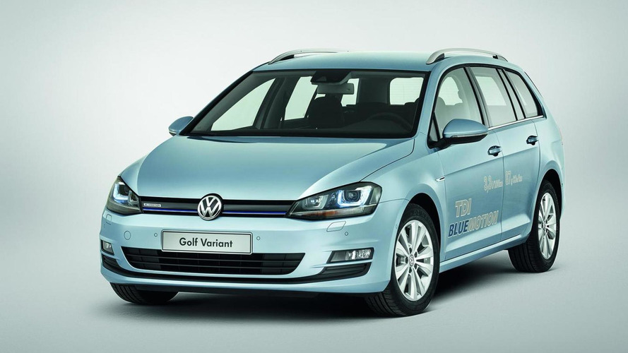 Volkswagen Golf VII Variant priced from 18,950 EUR (DE)