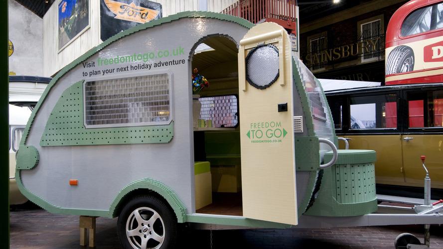Life-Size LEGO Caravan Sets New World Record