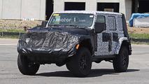 Jeep Wrangler 2018 (fotos espía interior)