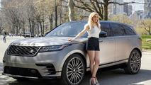 2018 Range Rover Velar U.S. debut with Ellie Goulding