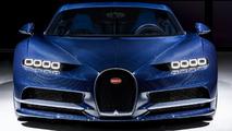 Bugatti Chiron in Bleu Royal