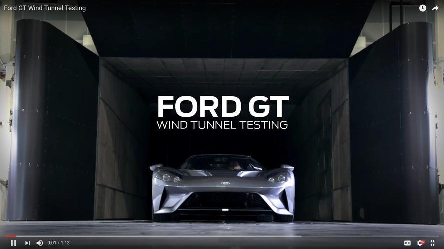 Ford GT rüzgâr tüneli