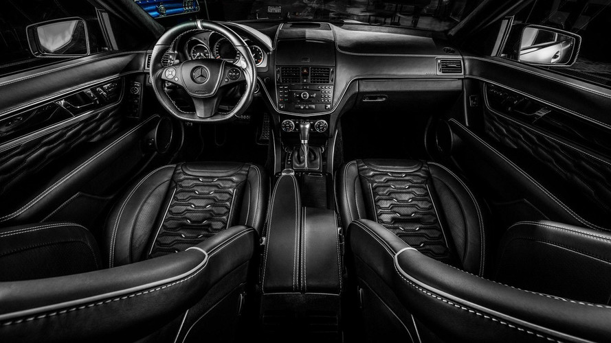 Mercedes C63 AMG Interior Was Not Good Enough For Carlex Design