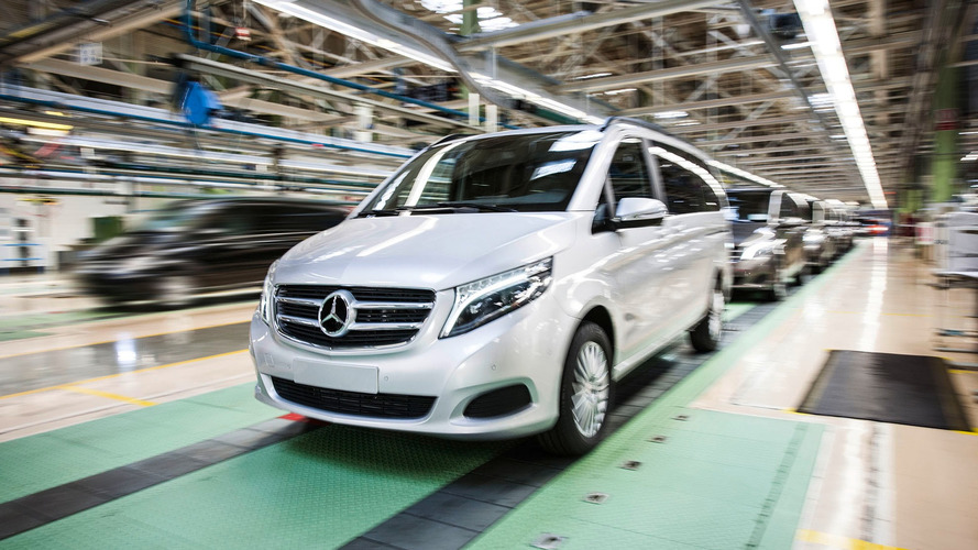 Mercedes builds 100k V-Class minivans, adds production in Spain