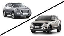 Briga em Casa - Hyundai Creta x ix35