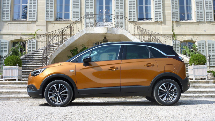 Essai Opel Crossland X (2017) - Le crossover challenger