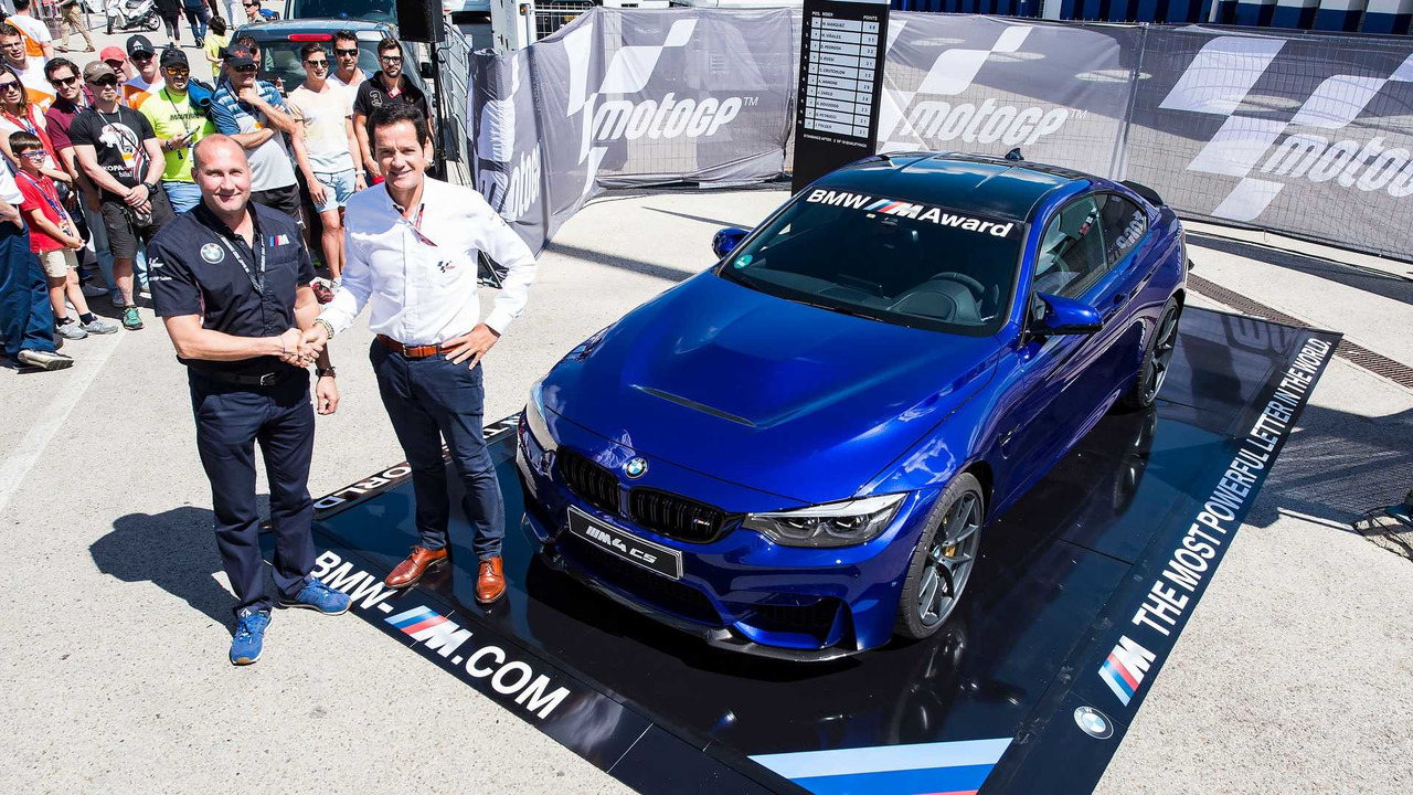 BMW M4 CS for Top MotoGP Qualifier