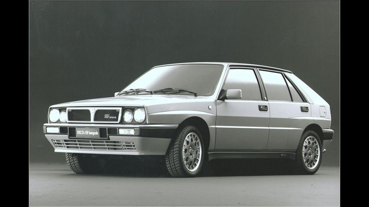 Platz fünf im Vergleich zu 2015: Lancia Delta HF Integrale