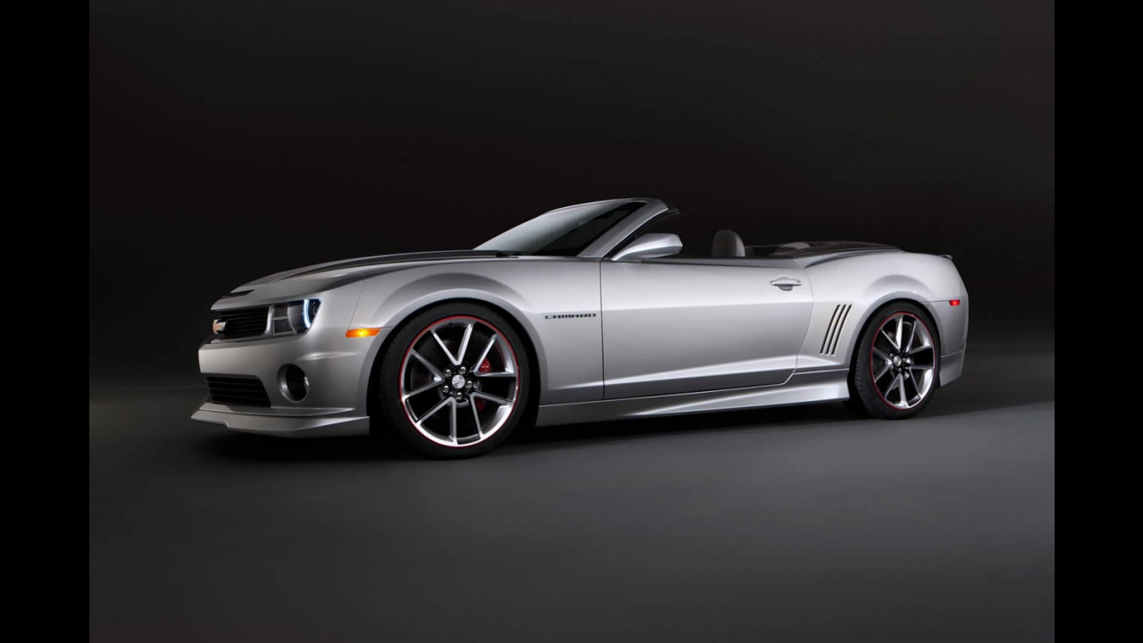 Chevrolet divulga versões personalizadas do Camaro para o SEMA Show 2011