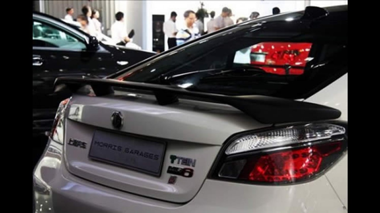 MG6 Sport Tein é apresentado na China - Será que vem ao Brasil?