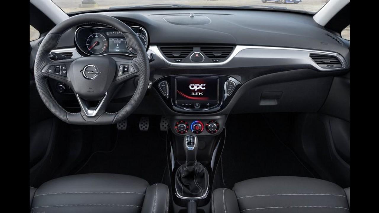 Galeria: veja detalhes do novo Opel Corsa OPC, esportivo de 210 cv