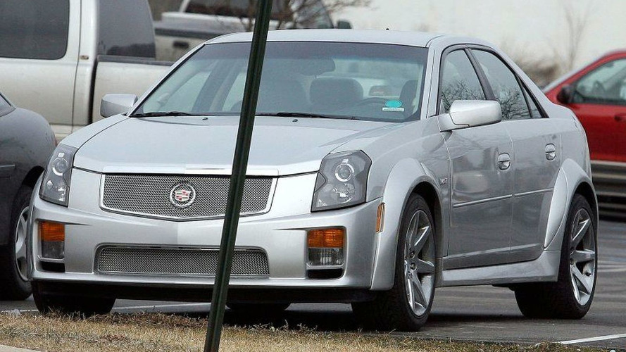 Cadillac CTS Super-V Spy Photos