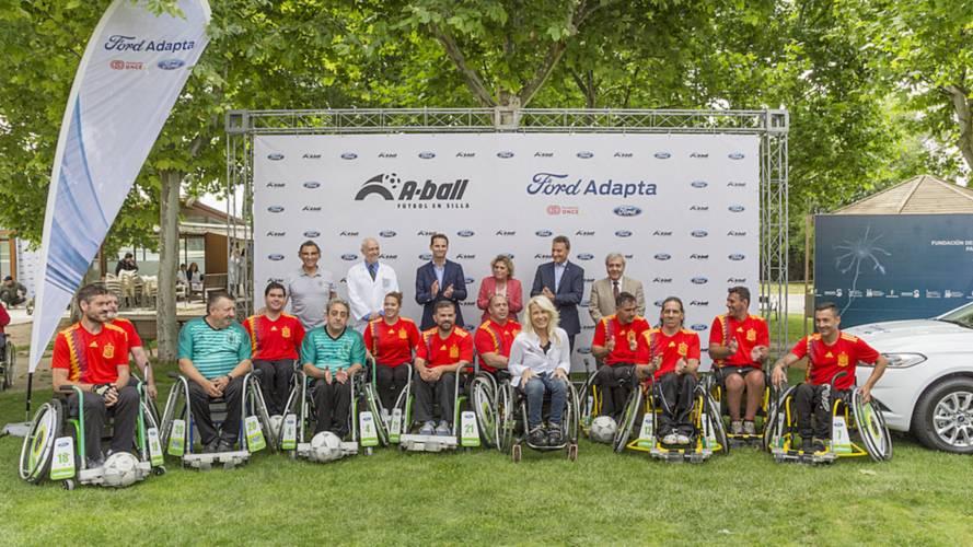 Ford Adapta y el A-ball, fútbol en silla, unidos por la integración