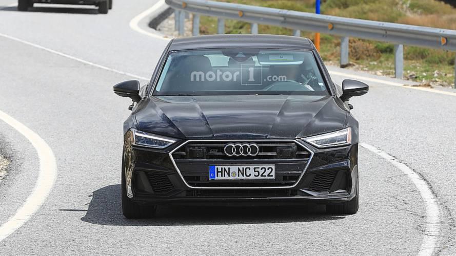 Audi S7 en Photos espion