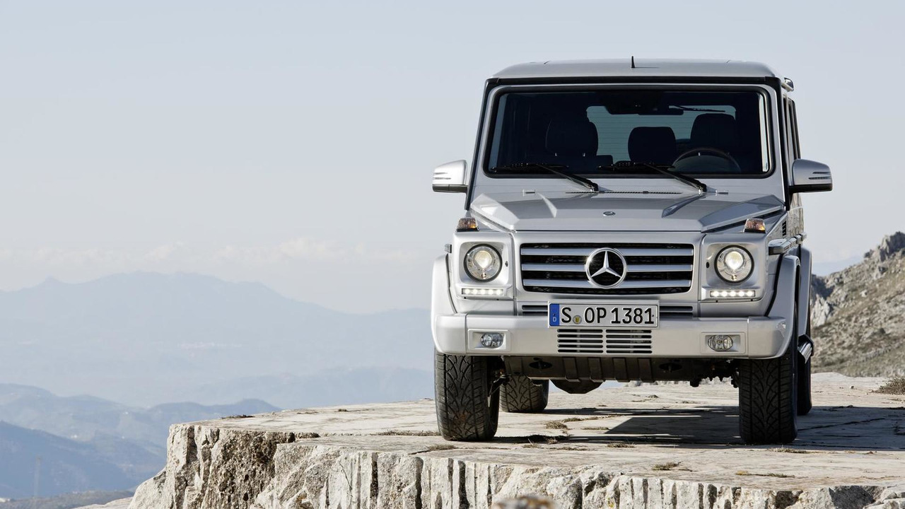 2013 mercedes g class and g65 amg officially revealed for Mercedes benz garia golf cart price