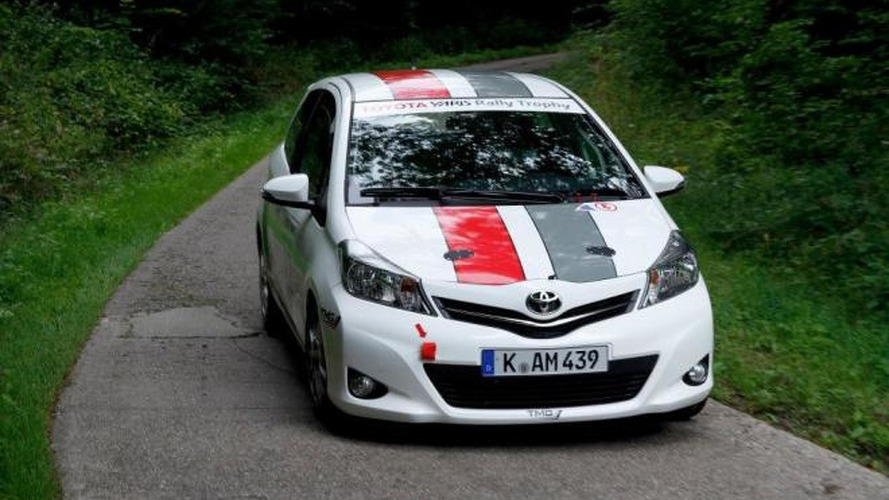 Toyota preps Yaris R1A rally car