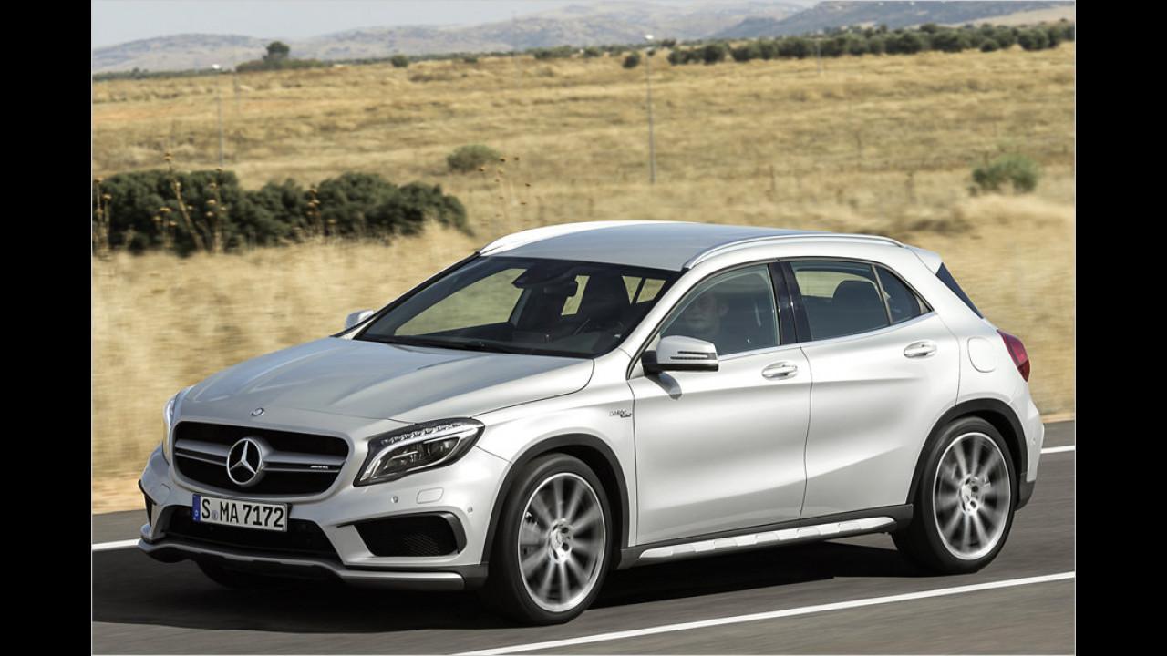 Mercedes-AMG GLA 45: 4,4 Sekunden
