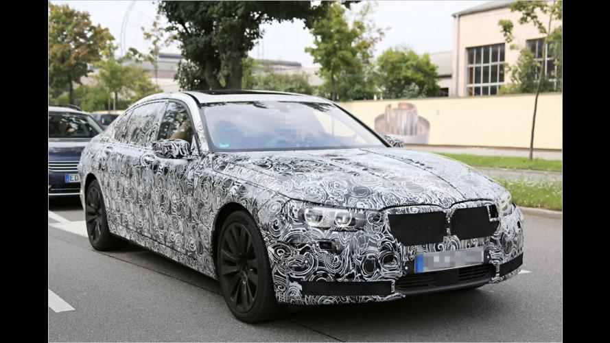 Erwischt: Neuer BMW 7er